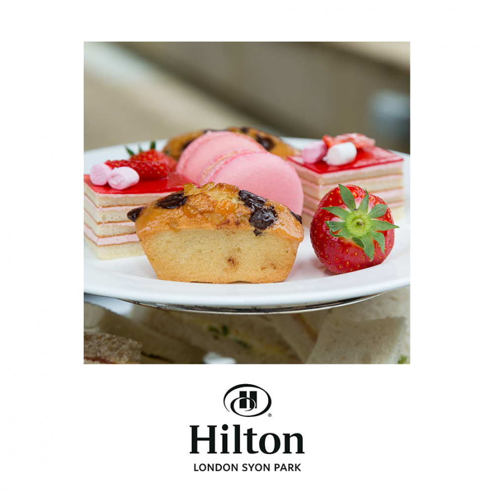 Hilton London Syon Park – The Pink Lady Afternoon Tea